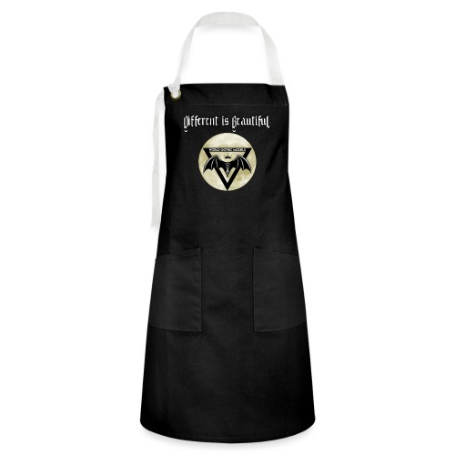 Different is Beautiful with Moon WGM Logo - Artisan Apron