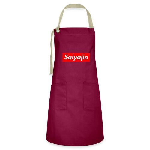 saiyajin - Tablier contrasté
