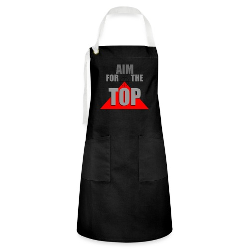 Aim For The Top, by SBDesigns - Tablier contrasté