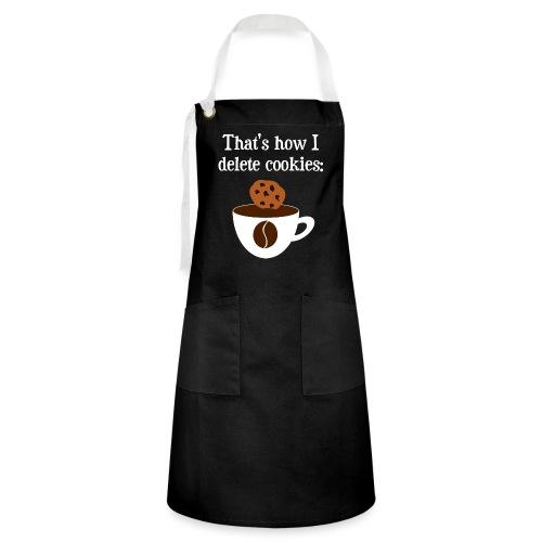 Cookies Kaffee Nerd Geek - Kontrastschürze