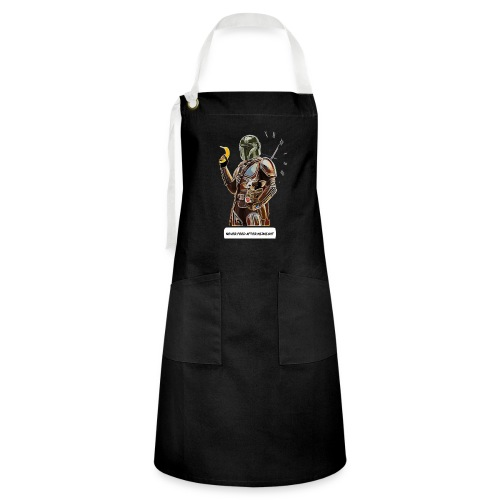 Never Feed After Midnight - Artisan Apron