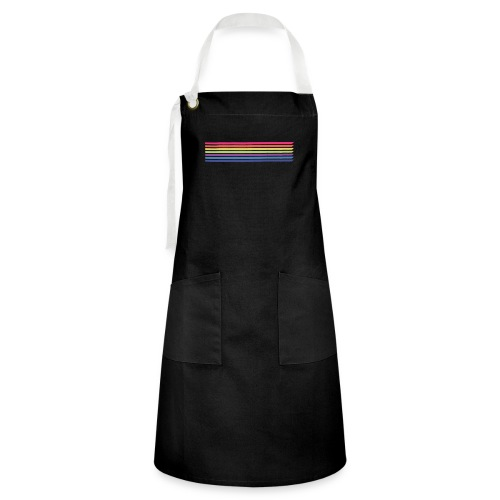 Colored lines - Artisan Apron