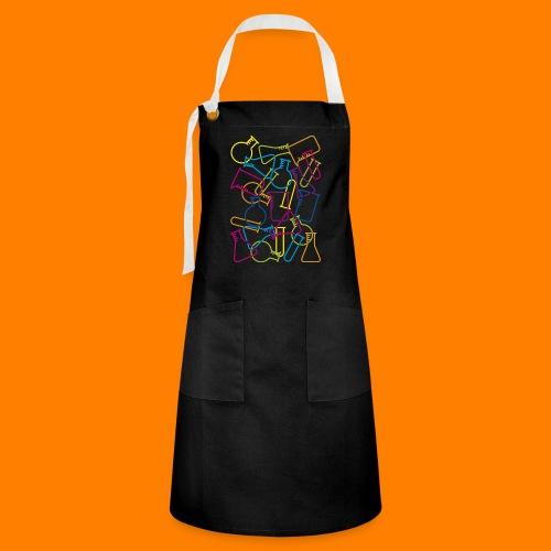 Large Laboratory Glassware - Artisan Apron