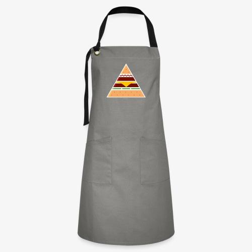 Triangle Burger - Grembiule artista