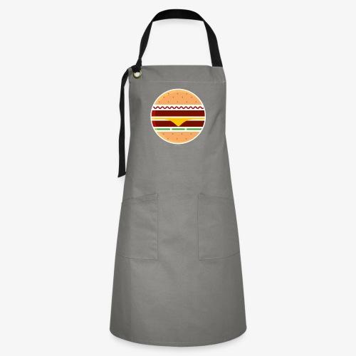 Circle Burger - Grembiule artista
