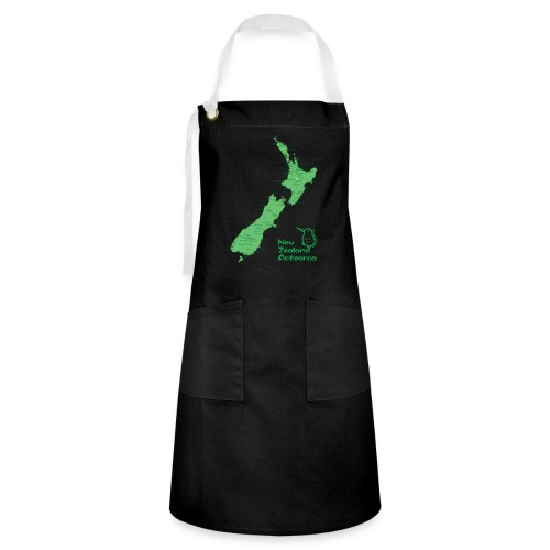 New Zealand's Map - Artisan Apron