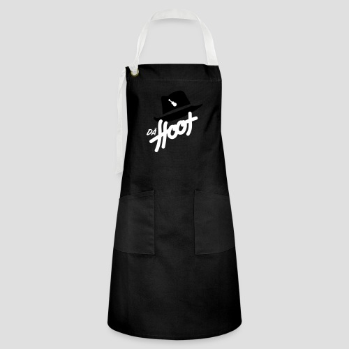 daeHoot_Shirt_Logo2_2c - Kontrastschürze