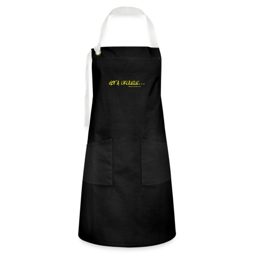 Official Got A Ukulele website t shirt design - Artisan Apron
