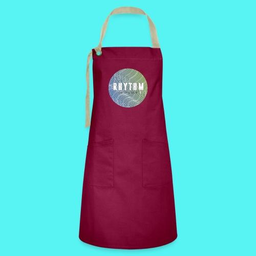 Rhythm On The Run Logo - Artisan Apron