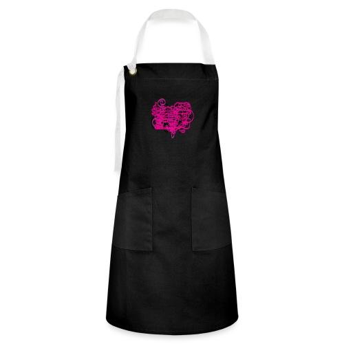delicious pink - Artisan Apron