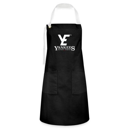 YE Logo White - Artisan Apron
