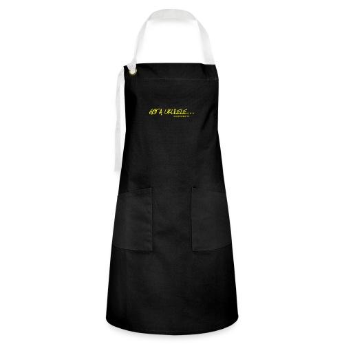 Official Got A Ukulele website t shirt design - Artisan Apron