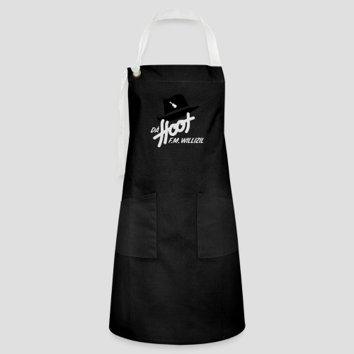 daeHoot_Shirt_Logo1_2c - Kontrastschürze