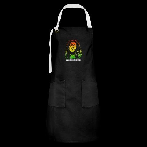 King of Reggae - Kontrastschürze