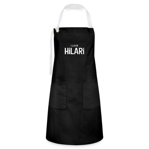 I love HILARI - Kontrastschürze