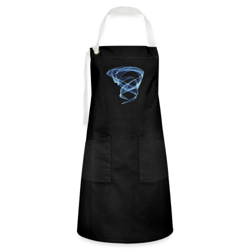 Chaotic Ice Water Whirlwind 11387ice - Artisan Apron
