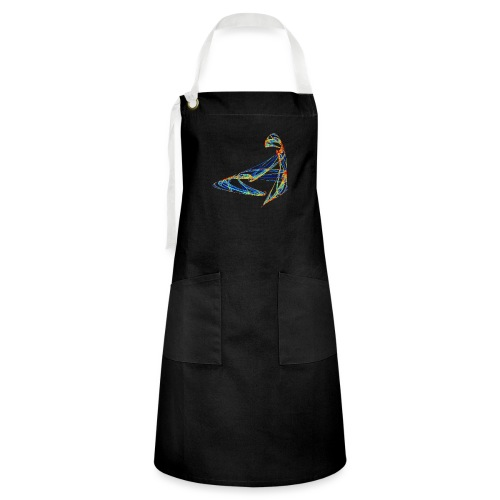 Happy play of colors 853 jet - Artisan Apron