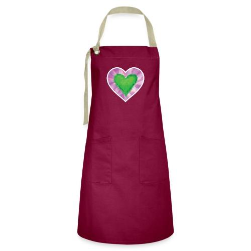 Green Heart - Artisan Apron