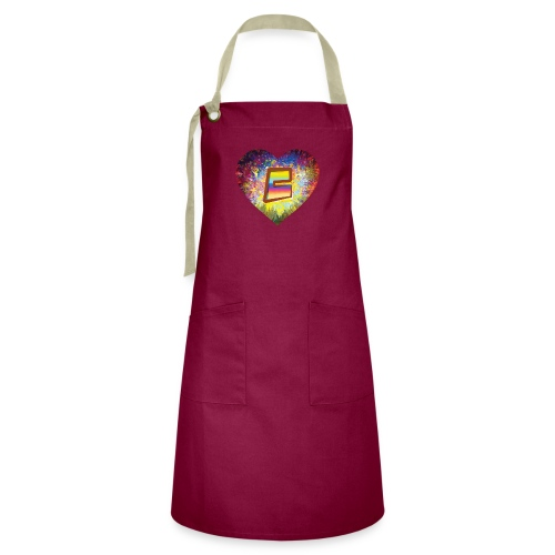Be a 70th Heart with that special Popper Hippie B - Artisan Apron