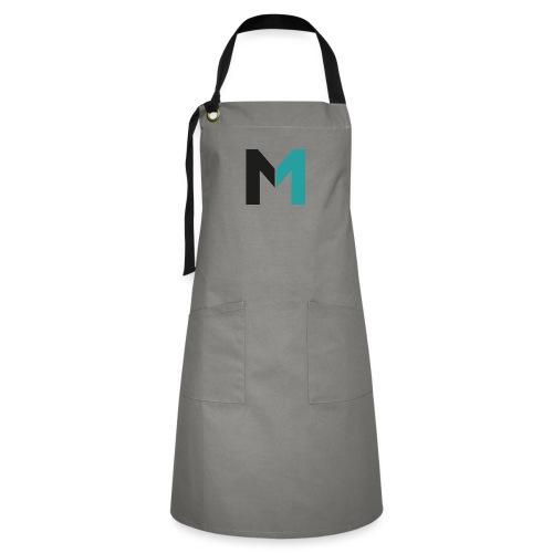 Logo M - Kontrastschürze