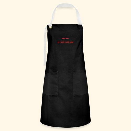Good bye and thank you - Artisan Apron
