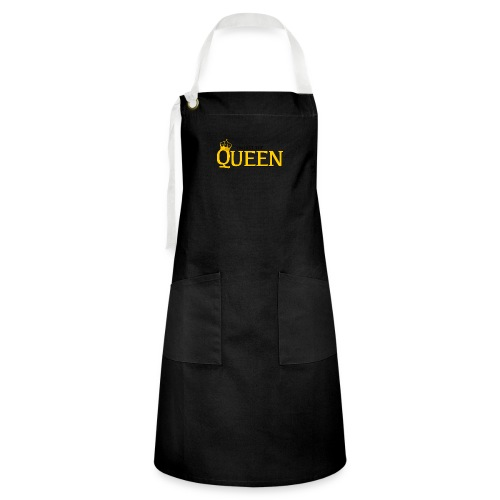 I'm just the Queen - Tablier contrasté