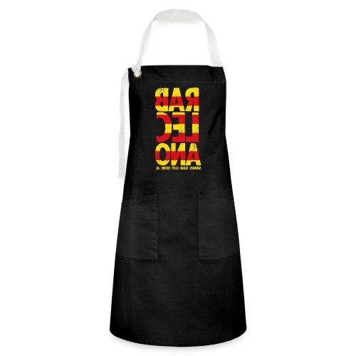 Barcelona (flagcolor oldstyle) - Kontrastschürze