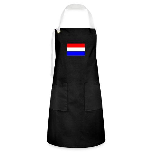 vlag nl - Contrasterende schort