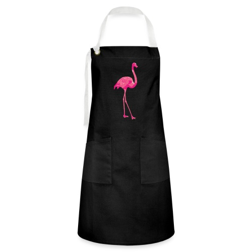 Flamingo - Contrasterende schort