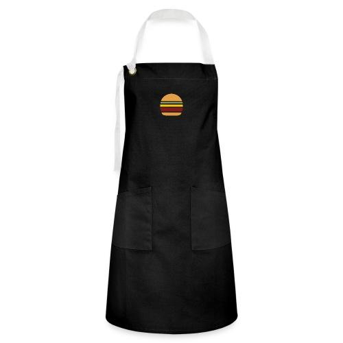 Logo Burger Panhamburger - Tablier contrasté
