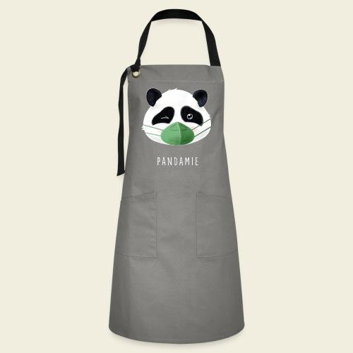 Pandamie - Kontrastschürze