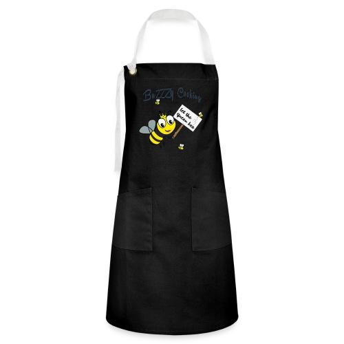 Save the bees with this cute design! Steun de bij - Contrasterende schort