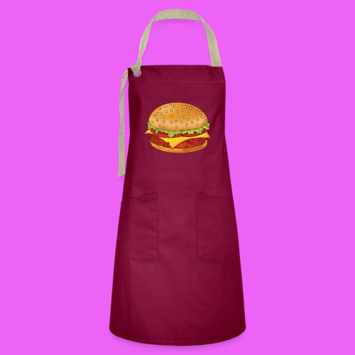 hamburguesa - Delantal Artesanal