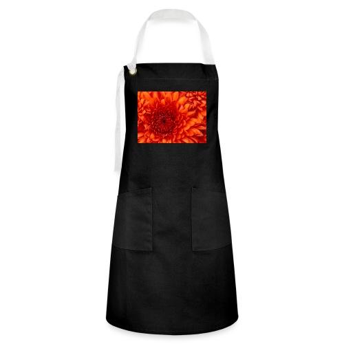 Chrysanthemum - Contrasterende schort