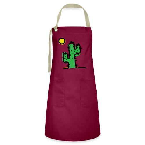 Cactus single - Grembiule artista