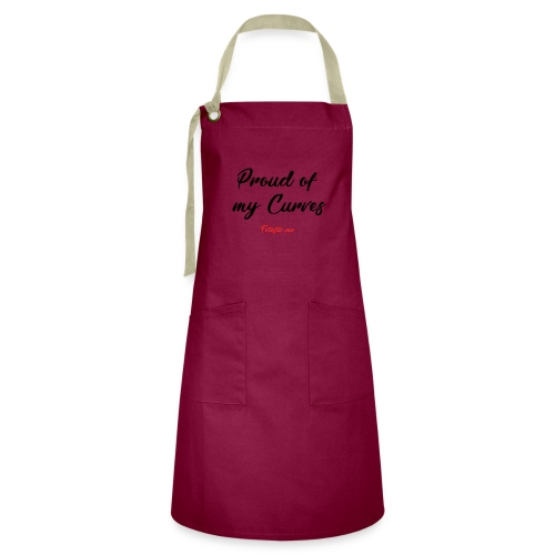 Proud of my Curves by Fatastic.me - Artisan Apron