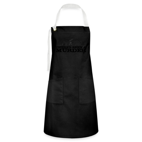 There's Been A Murder - Artisan Apron