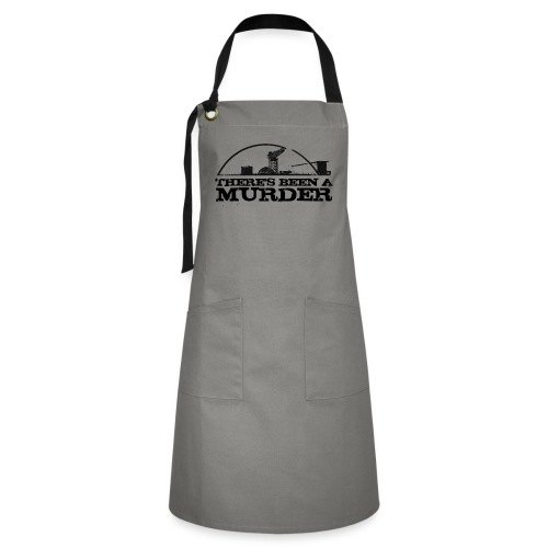 There s Been A Murder - Artisan Apron