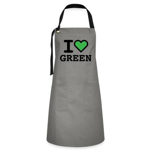 i-love-green-2.png - Grembiule artista