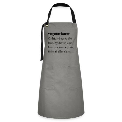 Vegetarianer definisjon - Konstrastforkle