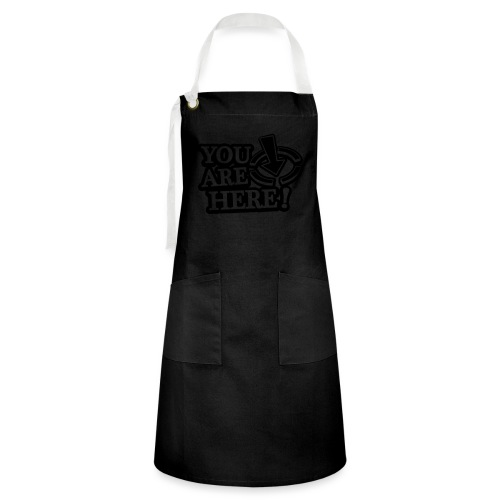 You are here! - Artisan Apron