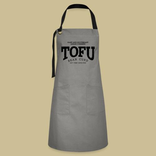 Tofu (black oldstyle) - Kontrastschürze