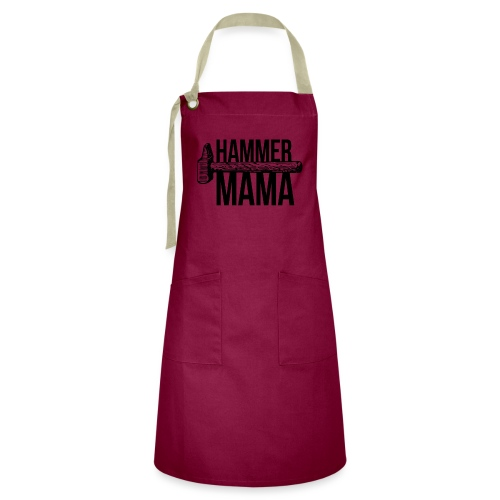 Hammer Mama - Kontrastschürze
