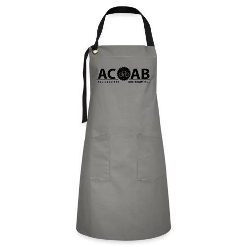 ACAB ALL CYCLISTS - Kontrastschürze