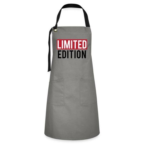 limited edition t shirt design text design - Grembiule artista