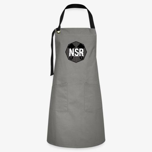 NSR B/W - Kontrastivärinen esiliina
