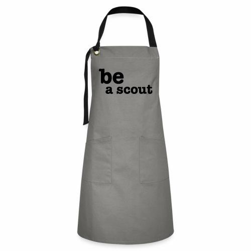 be a scout - Tablier contrasté