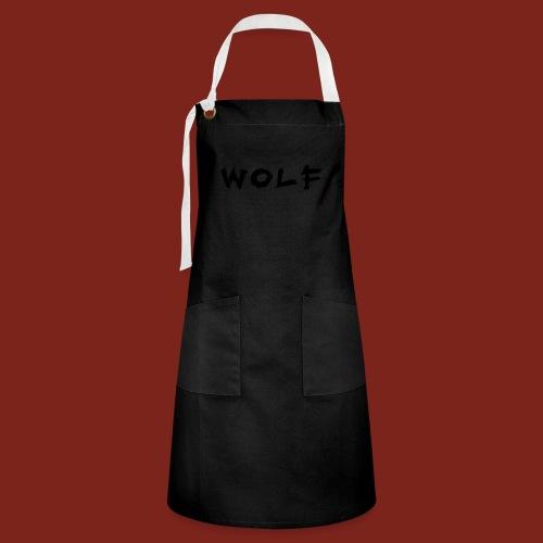 Wolf Font png - Contrasterende schort