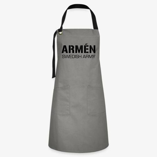 ARMÉN -Swedish Army - Kontrastförkläde