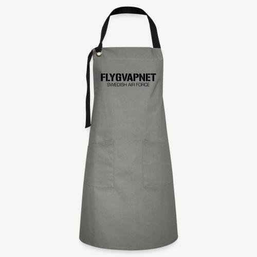 FLYGVAPNET - SWEDISH AIR FORCE - Kontrastförkläde